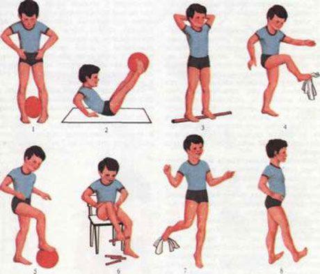 Гімнастика при шпорі п`яти: корисні вправи