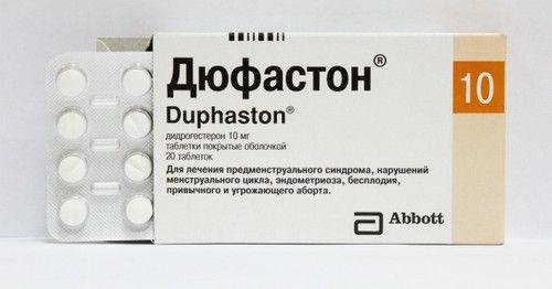 дюфастон для виклику менструації