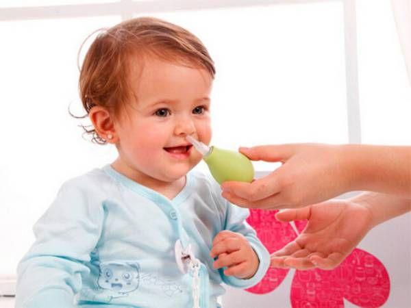 Промивання носа дитині