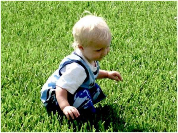 Дитина в траві