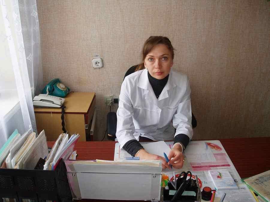 на прийомі у лікаря