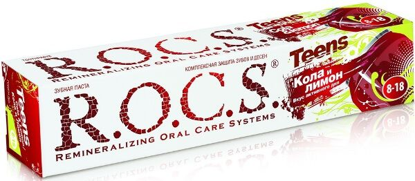 зубна паста Рокс Teens