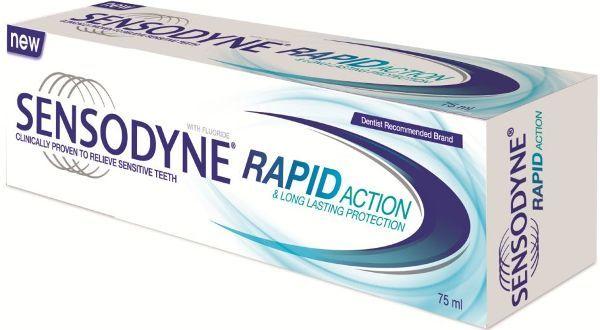 зубна паста Sensodyne Rapid Whitening